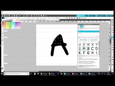 Silhouette Studio: Font Generator