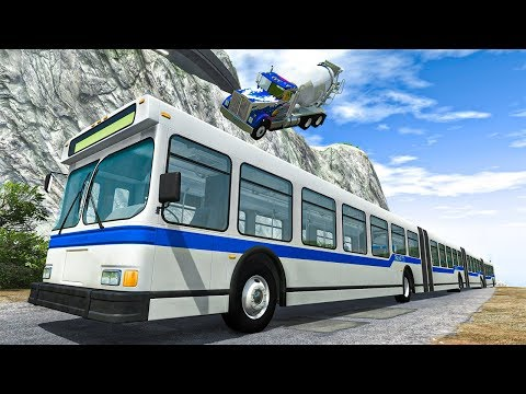 Articulated Bus #2 - BeamNG DRIVE | SmashChan