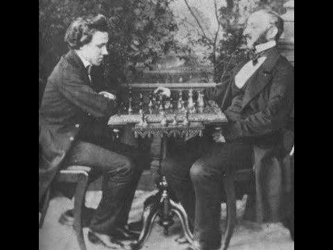 Paul Morphy vs Johann Jacob Loewenthal - New Orleans (1850) #14