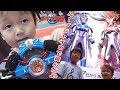 ウルトラマンルーブの変身アイテム 「ルーブジャイロ」で遊んだよ!東京おもちゃショー2018