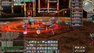 RaidZilla : Lineage 2 EPIC RAID BOSS 1080p Scarlet Van Halisha Frintezza Necklace Boss Battle 2011