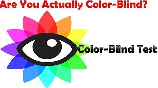 Are You Actually Color-Blind?  Color-Blind Test