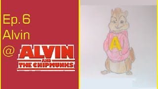 #6 How to draw Alvin@Alvin and the Chipmunks