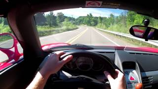 2005 Porsche Carrera GT - WINDING ROAD POV Test Drive