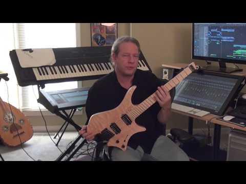 Sean McKee Plays Strandberg - Solo Of Jon Anderson & Sean McKee Song