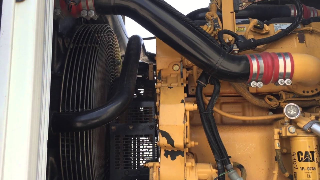 Caterpillar XQ400 Portable Diesel Generator Set
