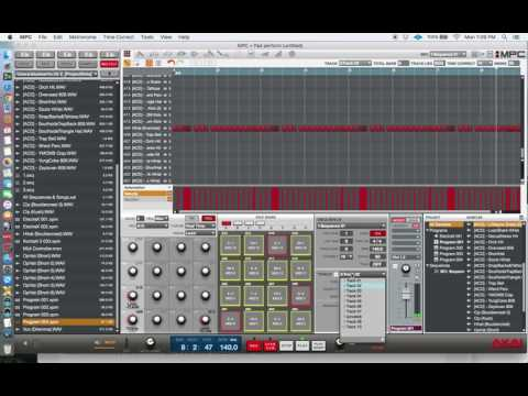 Making Trap on MPC software using mpc studio and IL grossbeat  10/31/2016