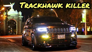 Grocery Getter Grand Cherokee | Trackhawk Killer | 700 WHP Jeep SRT Supercharged