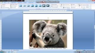 Microsoft word'te yazı tipi paragraf resim ekleme tablo düzenleme... 2