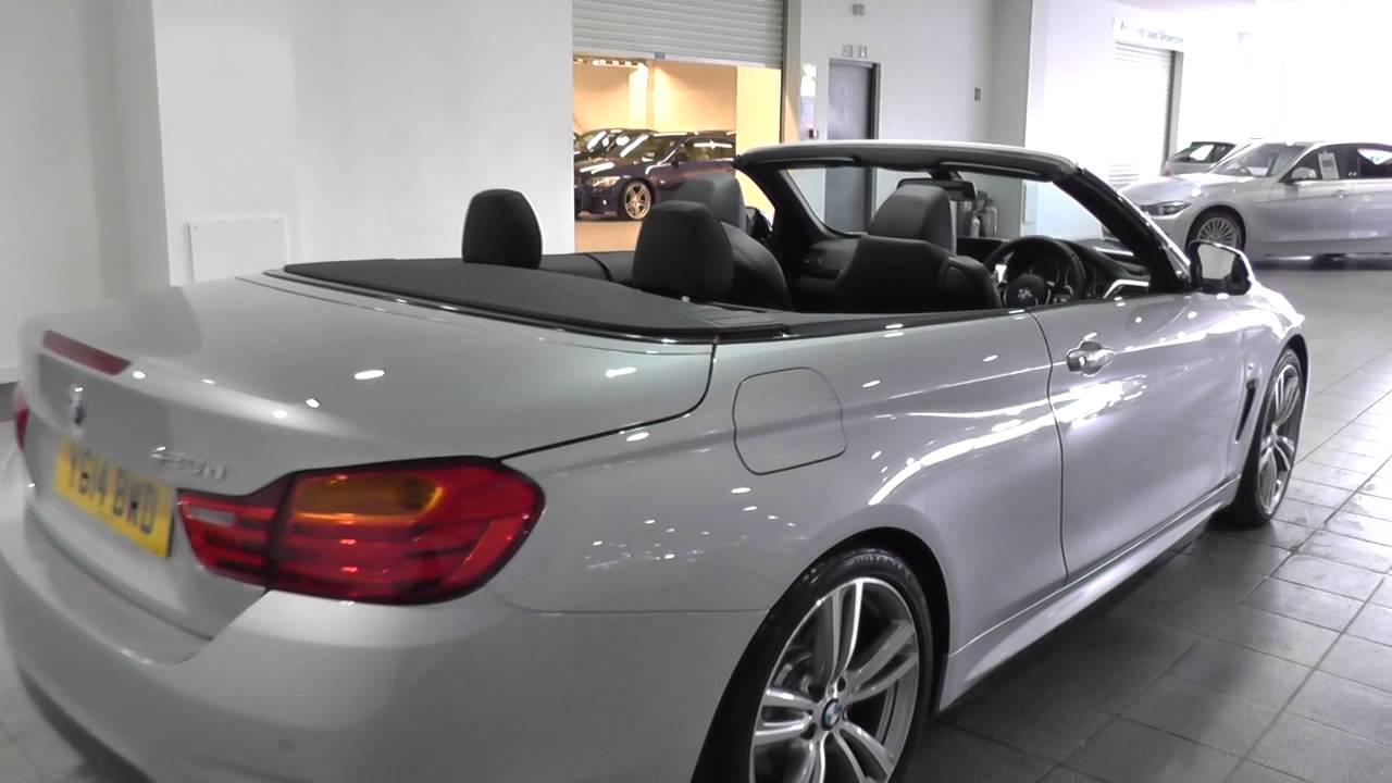 bmw 4 series convertible f33 420d m sport convertible n47t z4cl u3793 youtube. Black Bedroom Furniture Sets. Home Design Ideas