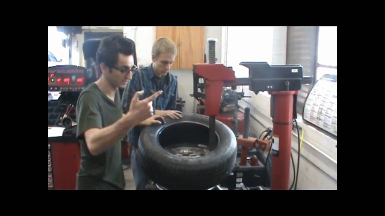 Tire Mounting And Balancing Youtube