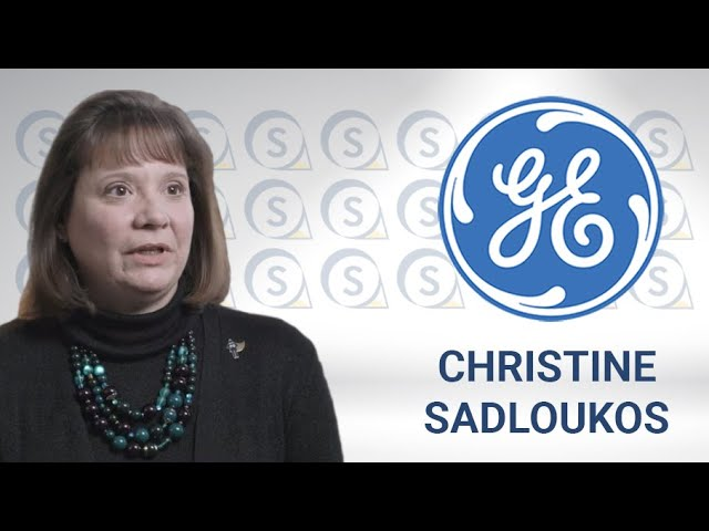 Christine Sadloukos, Global Compliance Leader GE - Nymity Spotlight recognizing Privacy Superheroes