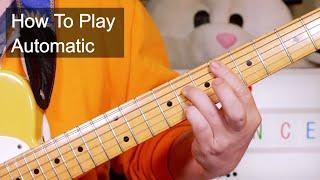 'Automatic' Prince Guitar Lesson