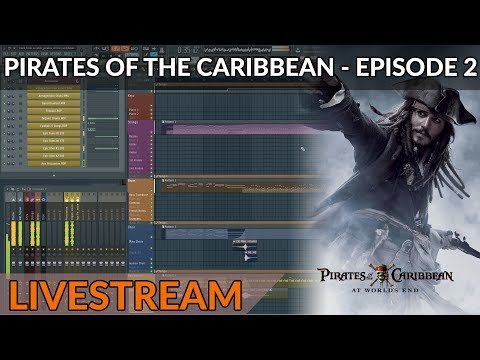 Composing Live: Pirates Of The Caribbean Medley - Part 2 - He's A Pirate