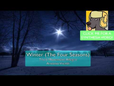 Winter (The Four Seasons, Vivaldi) [DUET] - Christmas Special! - Piano Transcription by DJDelta0