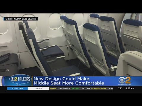 Christie James - Middle Airplane Seats Are Getting A Makeover