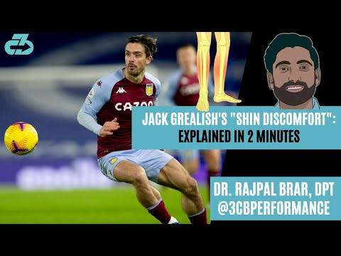 [OC] Explained in 2 minutes: Jack Grealish's shin injury and potential return timeline