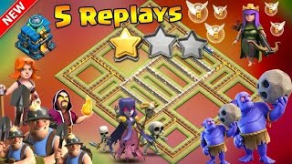 Th 12 best base with 5 replays