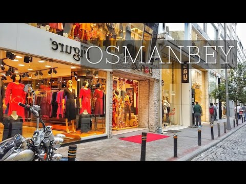 Walking Istanbul : Wholesale Fashion Center Osmanbey Streets 🇹🇷
