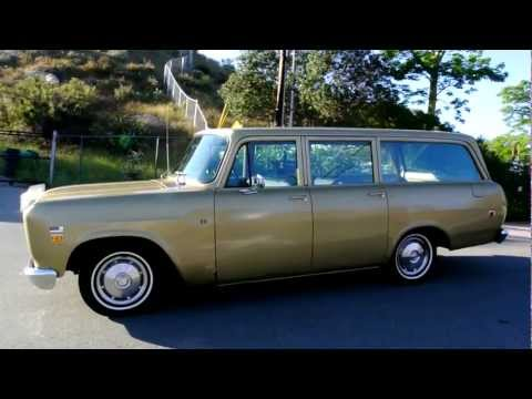 1971 International Travelall 1010 Clean & Rebuilt Driveline & More Surf Wagon