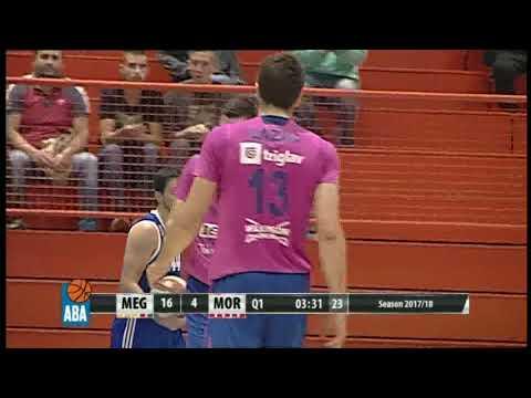 Vlatko Čančar with a high-flying dunk! (Mega Bemax - Mornar, 7.10.2017)