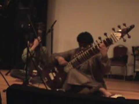 JAY KISHOR surbahar JEFF BYERS tanpura -Artscape 2007(part1)