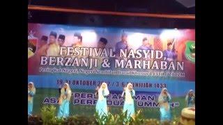 Johan Festival Nasyid, Marhaban Dan Berzanji Peringkat Negeri Sembilan (Kategori Moden) 2012