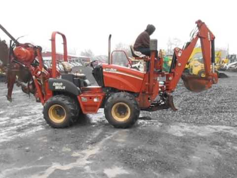 Ditch Witch RT55 Combo Trencher