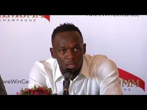 Usain Bolt on his first ever visit to SA