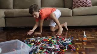 Novo organizador de brinquedos. Bolsas Organizadoras da Pingo: Brinca. Puxa. Guarda