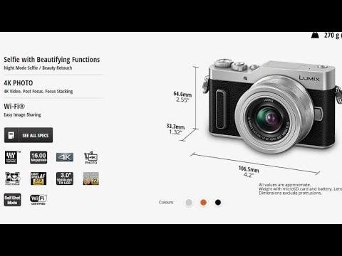 Sasta Tareen 4k Camera Panasonic GF10 Video and Audio Sample | Karachi Camera Center