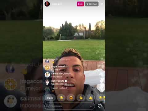 CRISTIANO RONALDO talks about Argentina and more !! || Instagram Livestream