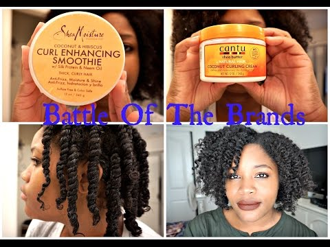 Battle Of The Brands.. Shea Moisture Vs. Cantu!
