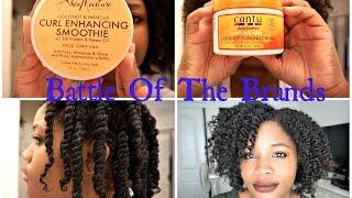 Battle Of The Brands.. Shea Moisture Vs. Cantu! thumbnail