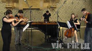 LIgNEouS 1 for Marimba and String Quartet by Andy Akiho