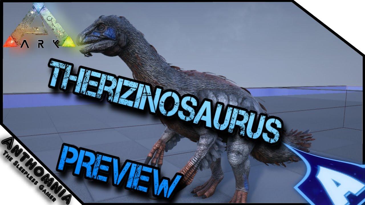 ARK Therizinosaurus Preview | ARK Dev Kit | ARK Survival Evolved |  Therizinosaurus