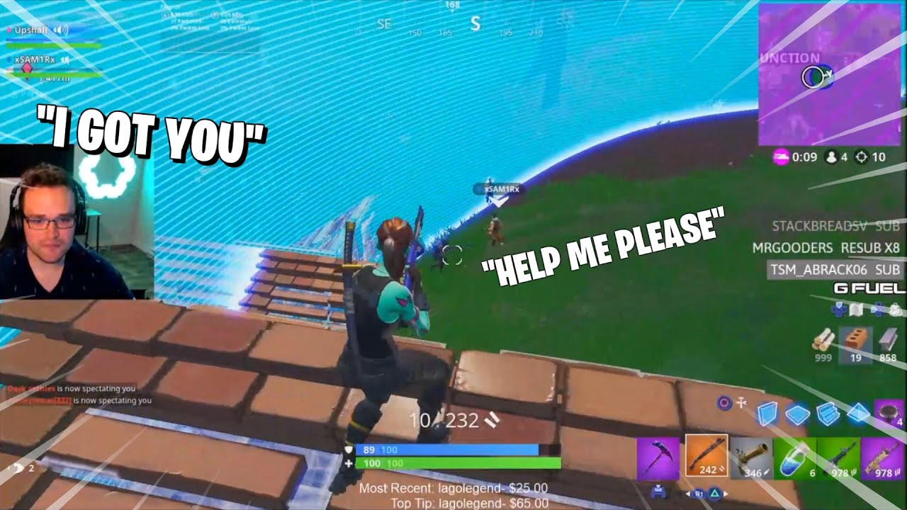 Random duos with the NICEST fortnite kid (He only had 2 wins and