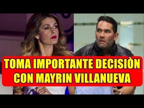 EDUARDO SANTAMARINA rompe el silencio y REVELA la DECISIÓN que TOMO con MAYRIN VILLANUEVA