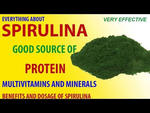 What Is Spirulina | Benefits And Dosage Of Spirulina - Hindi