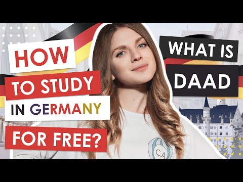 How to study in Germany for FREE?   EASY!   DAAD Scholarship   How to study abroad?