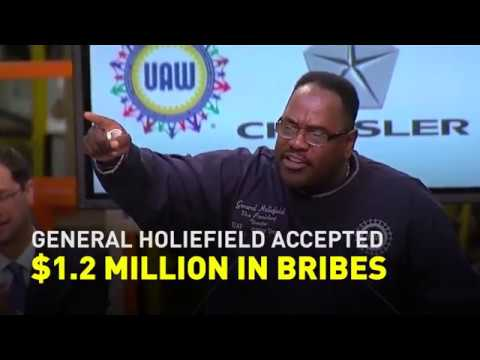 Top UAW negotiator took over $1 million in bribes from Fiat-Chrysler