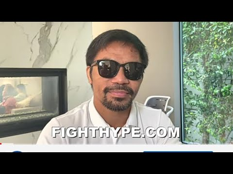 Boxing Manny Pacquaio Not Ready To Retire Open To A Rematch With Yordenis Ugas By Eric Pangilinan