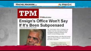 Part 2 - The Rachel Maddow Show - Thursday 18th March 2010 (18/03/2010)