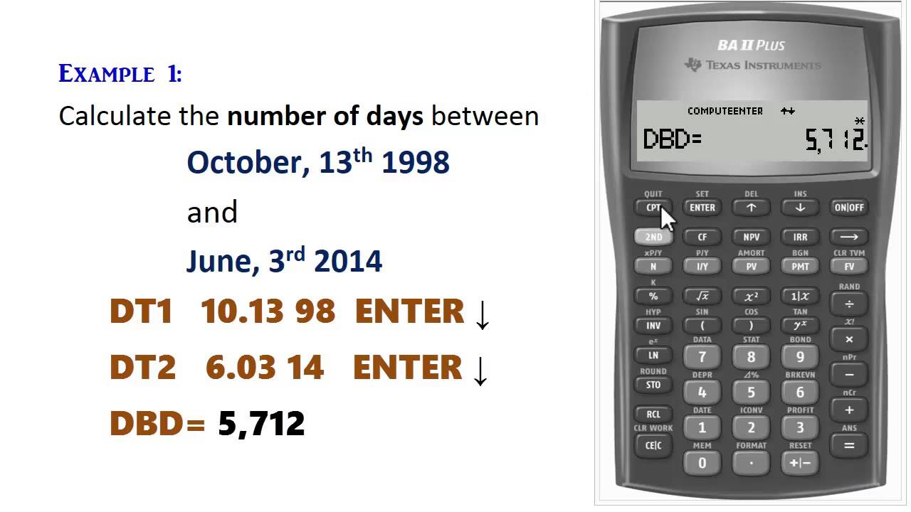 Days Calculator Days Between Two Dates