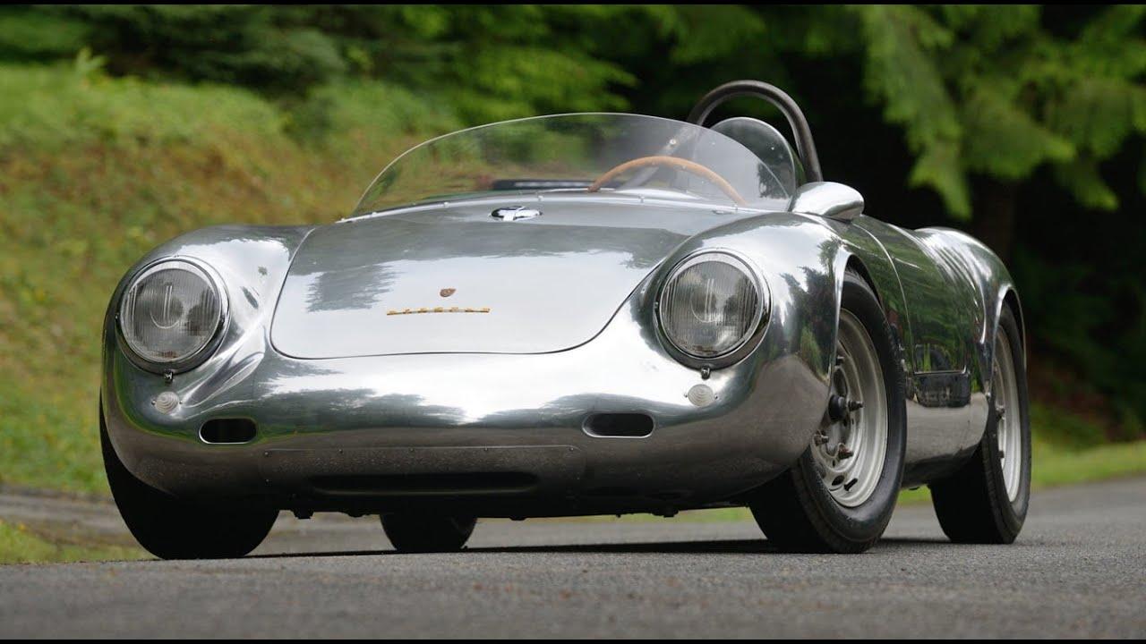 Porsche Spyder 550 >> 1958 Porsche 550 Spyder Heading To Mecum Monterey