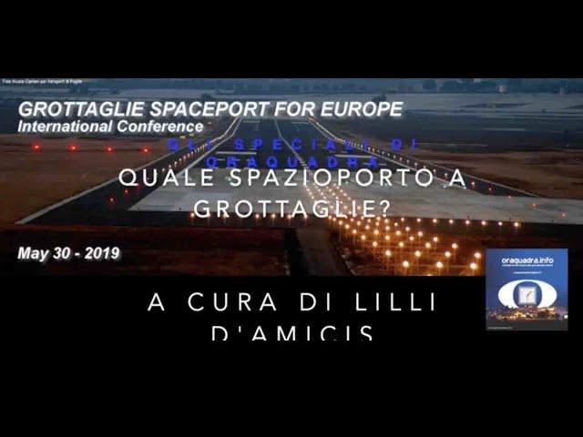 Gli Speciali di Oraquadra: SpazioPorto a Grottaglie, conferenza internazionale