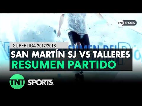 Resumen de San Martín SJ vs Talleres (1-1) | Fecha 16 - Superliga Argentina 2017/2018
