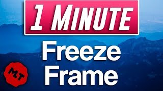 How to Freeze Frąme in Shotcut