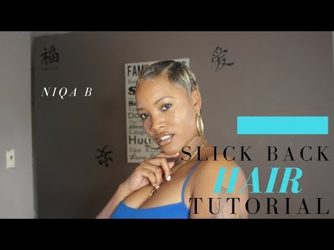SLICK BACK SHORT HAIR TUTORIAL
