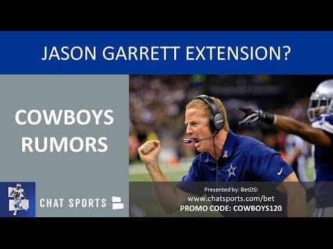 Cowboys Rumors & News: Jason Garrett Extension, Cole Beasley Injury & Losing Kris Richard